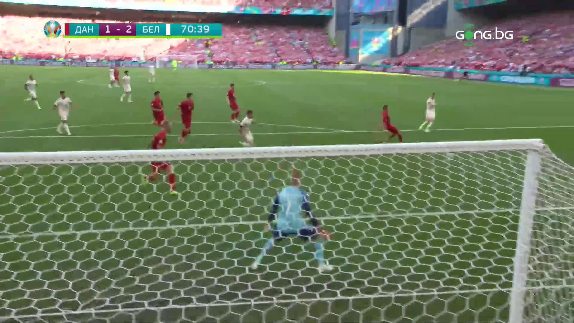 Пълен обрат за Белгия срещу Дания след нов гол-красавец