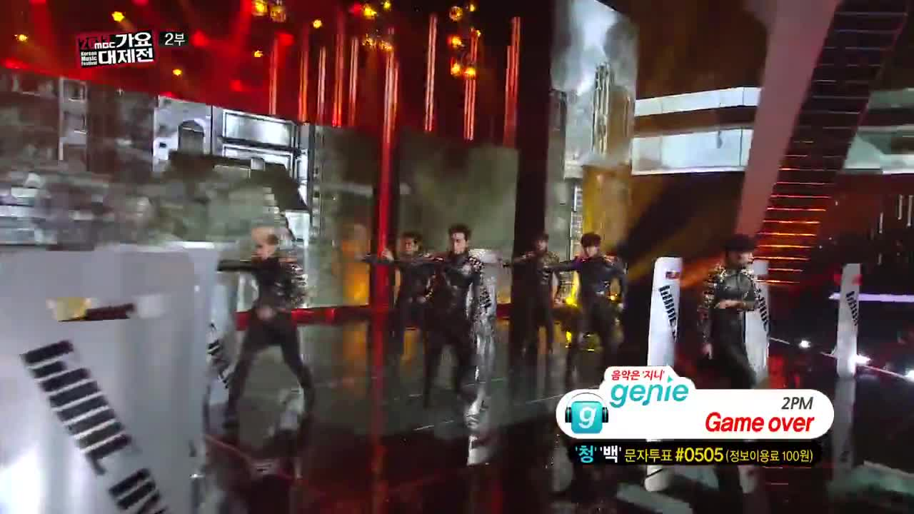2pm - A d t o y + Game over @ Mbc Gayo Daejaejun 2013 Vbox7