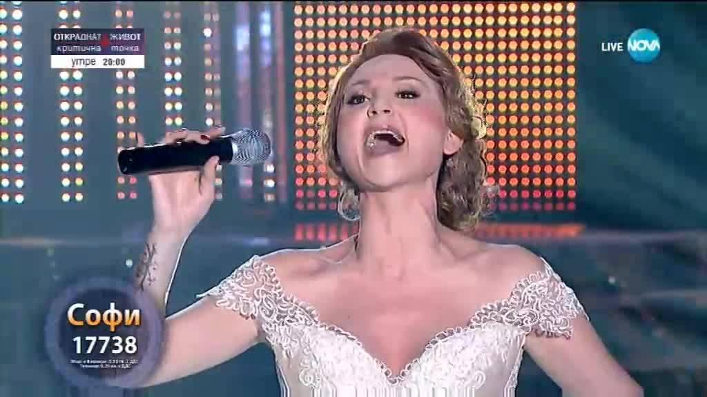 "Софи Маринова като Celine Dion - ""My Heart Will Go On"" | Като две капки вода"