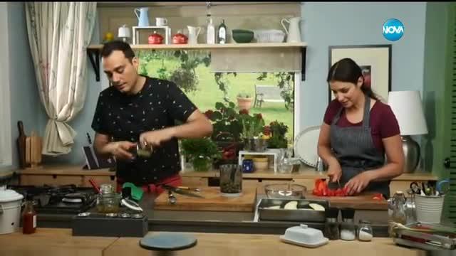 Салата от домати и патладжани с тапенада - Бон Апети (21.07.2017)