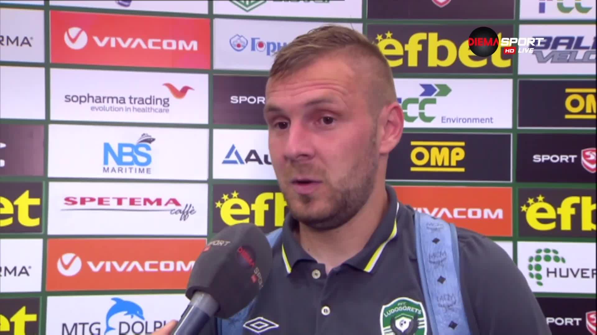 Моци призна за напрежението: Беше по-тежко от мача с Видеотон или с Локо Пловдив