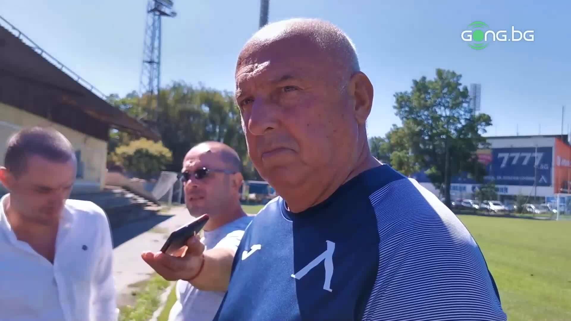 Георги Тодоров: Килограмите пречат на Валери Божинов