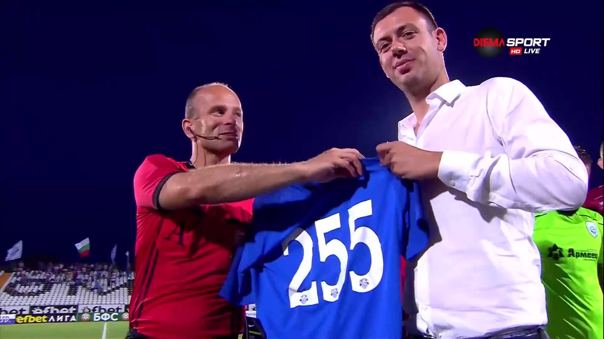 Наградиха рекордьорът Николай Йорданов