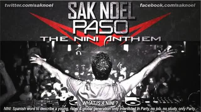 prevod Sak Noel - Paso (the Nini Anthem)