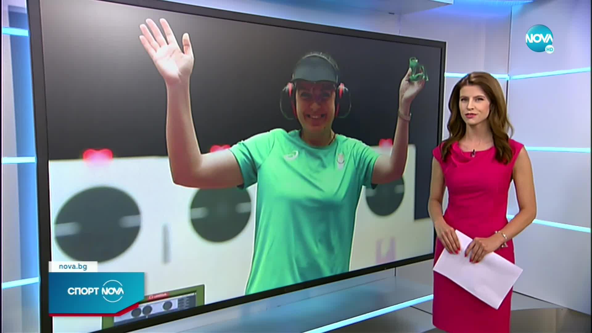 Антоанета Костадинова остана на крачка от втори медал в Токио