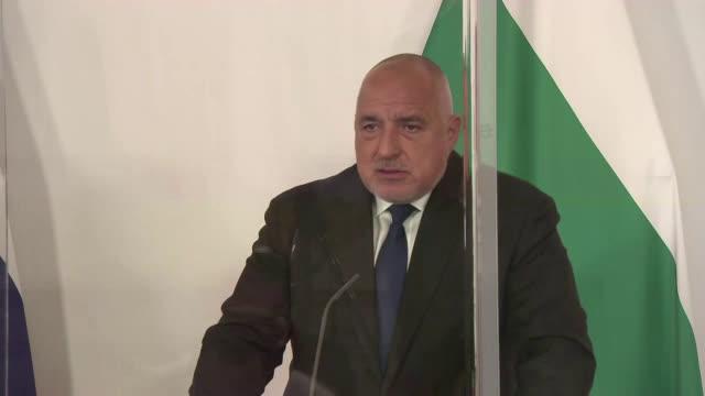 Изказване на премиера Борисов по време на срещата в Австрия за ваксините