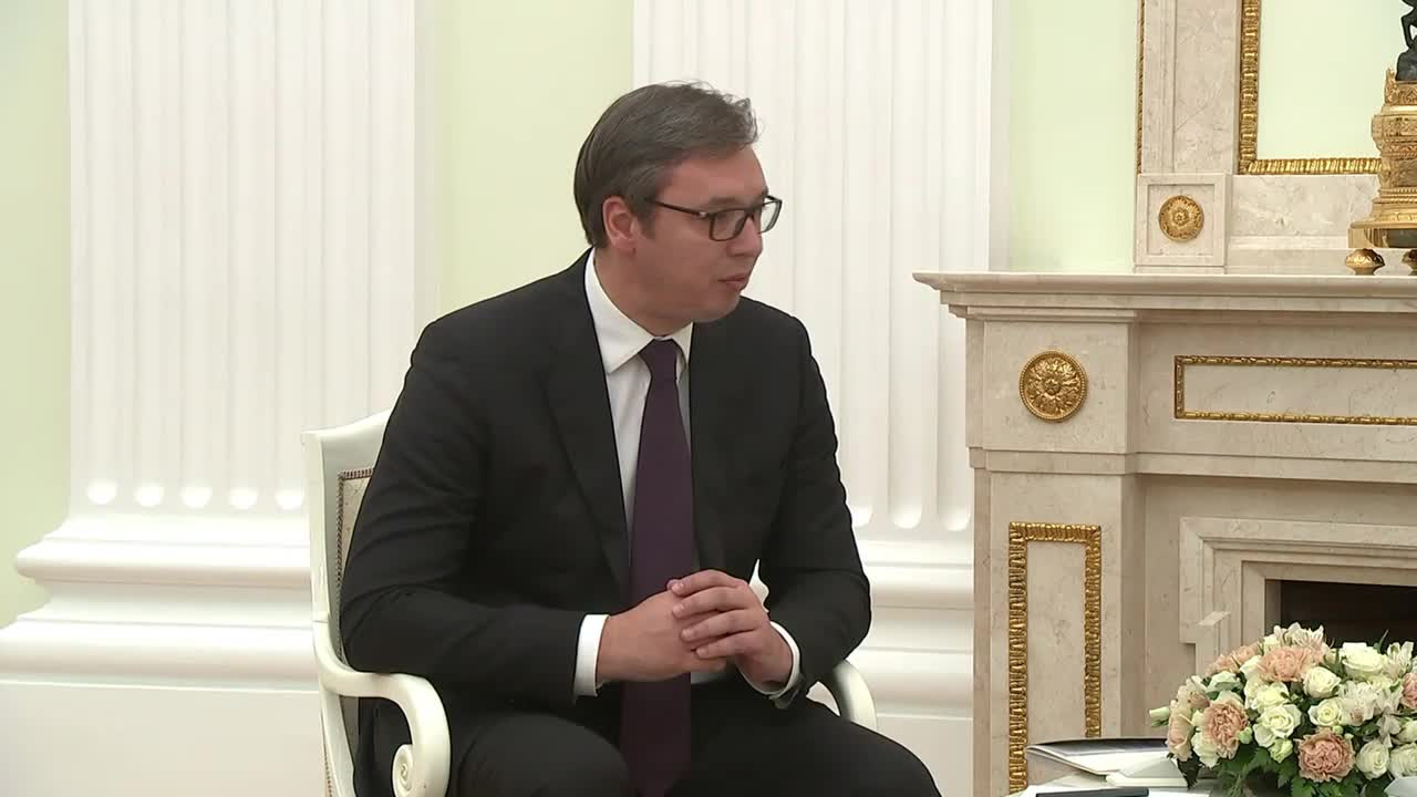 Russia: Serbian President Vucic thanks Putin for protecting Serbian interests