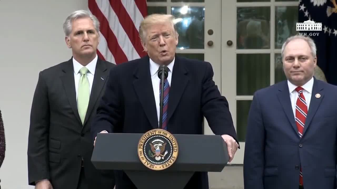 USA: Trump confirms shutdown could last years until border issue resolved