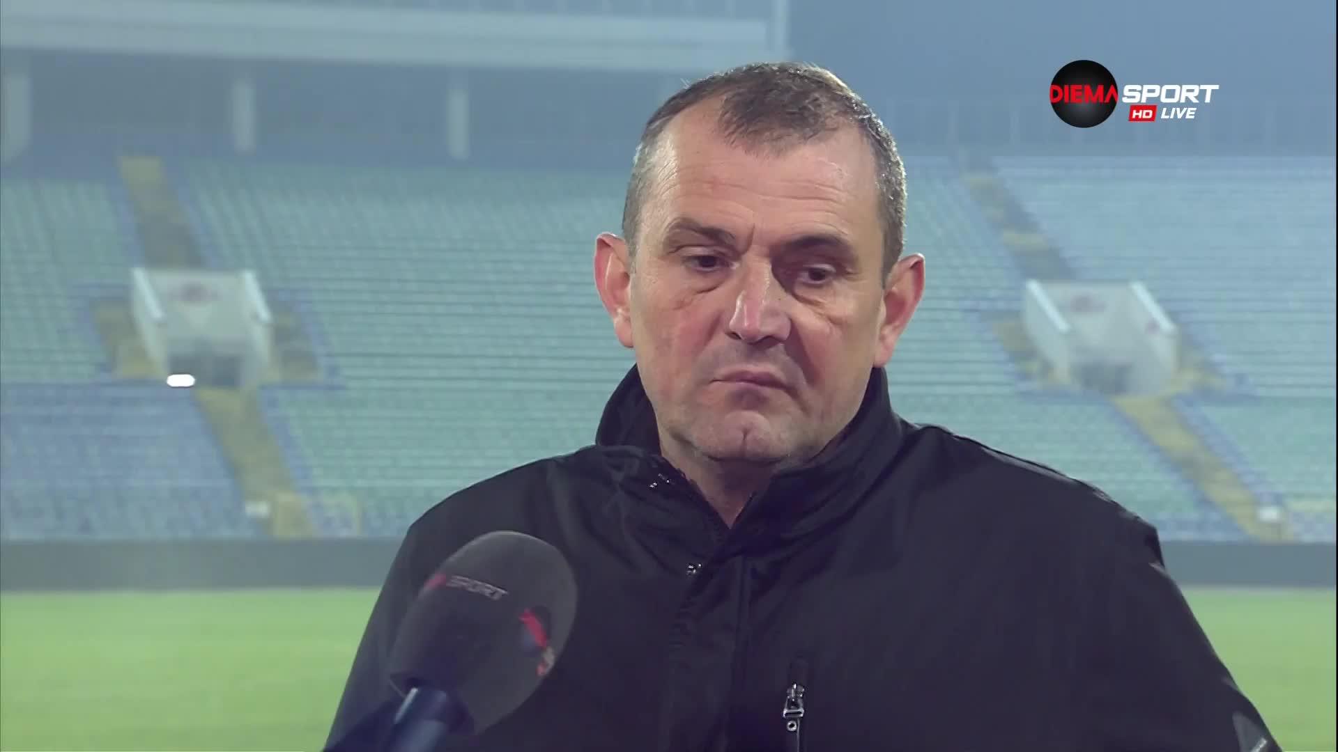 Загорчич призна: ЦСКА бе по-добрият отбор в мача