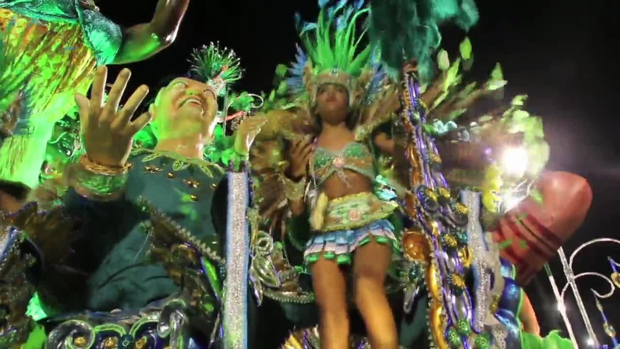 Brazil: Carnival meets Rio Olympics as Sambadrome begins