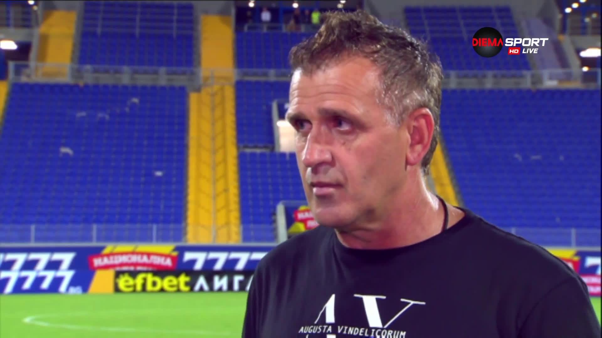 Акрапович: Загубихме линията на защитата, ще се мобилизираме за дербито