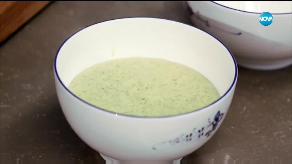Супа от тиквички и черна леща - Бон апети (08.06.2018)