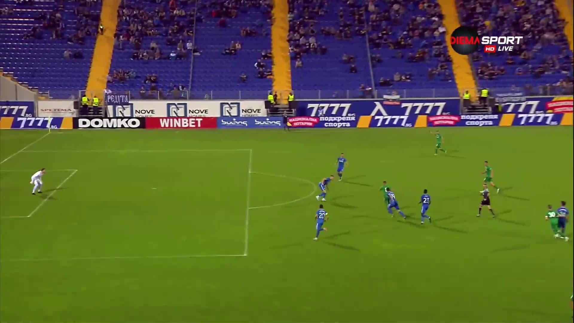 Ботев Враца върна един гол от пасива си срещу Левски