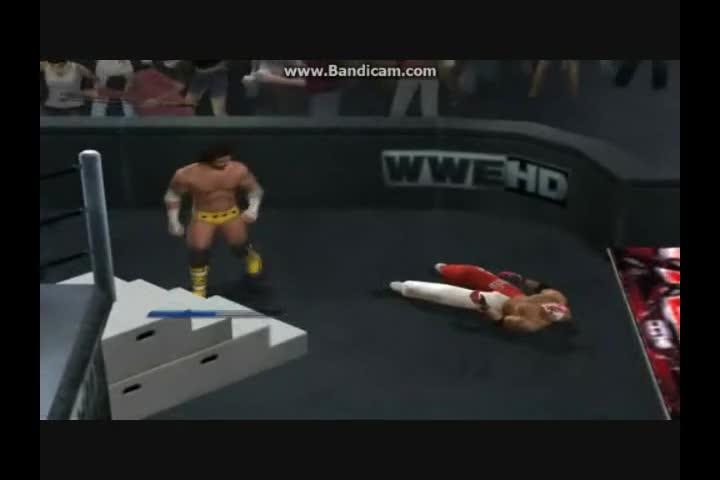 Matt hardy играe smackdown vs raw 2010 в degeneration x.