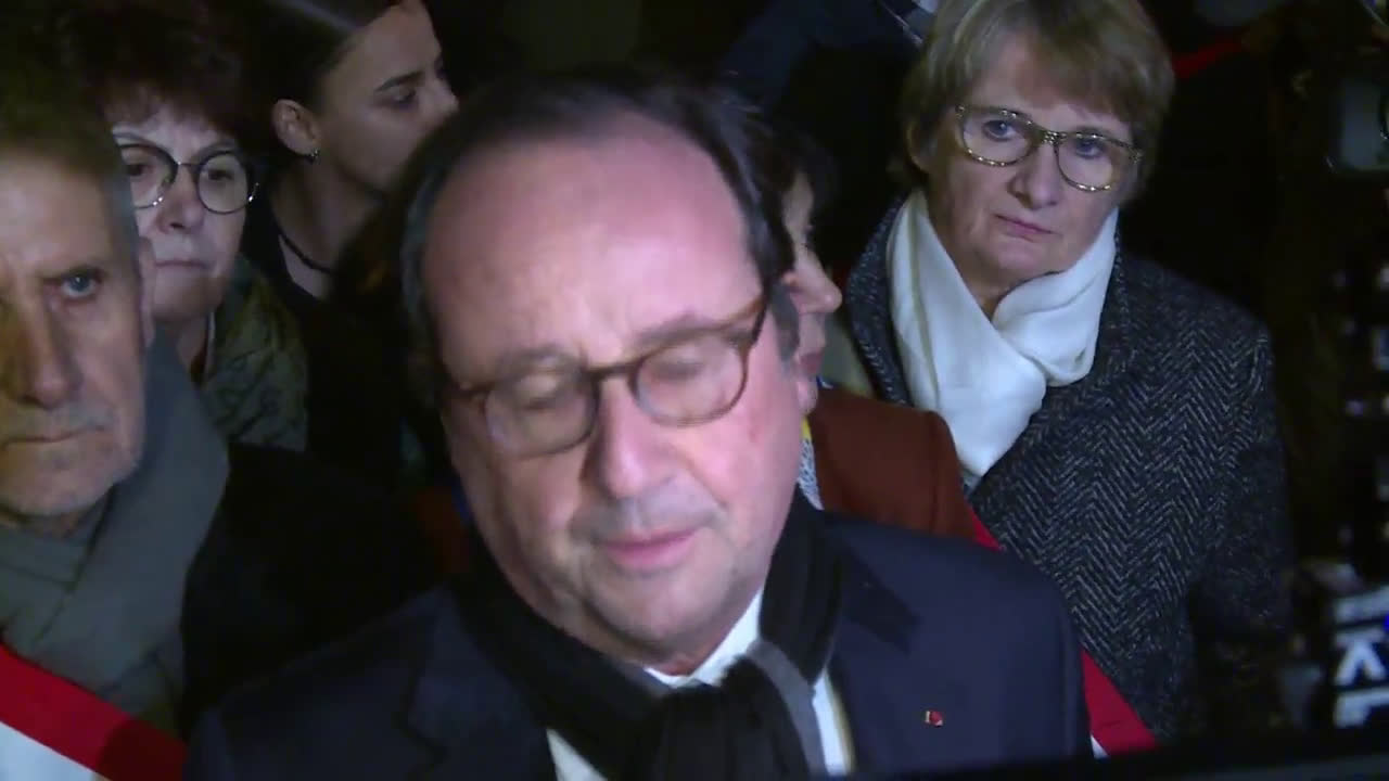France: Hollande, PM Phillipe join rally to decry anti-Semitism in Paris