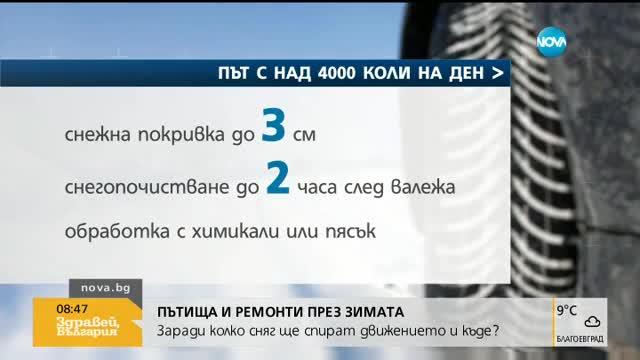 """Лиляна Павлова: През зимата бъдете готови обходен маршрут на """"Хемус"""""""