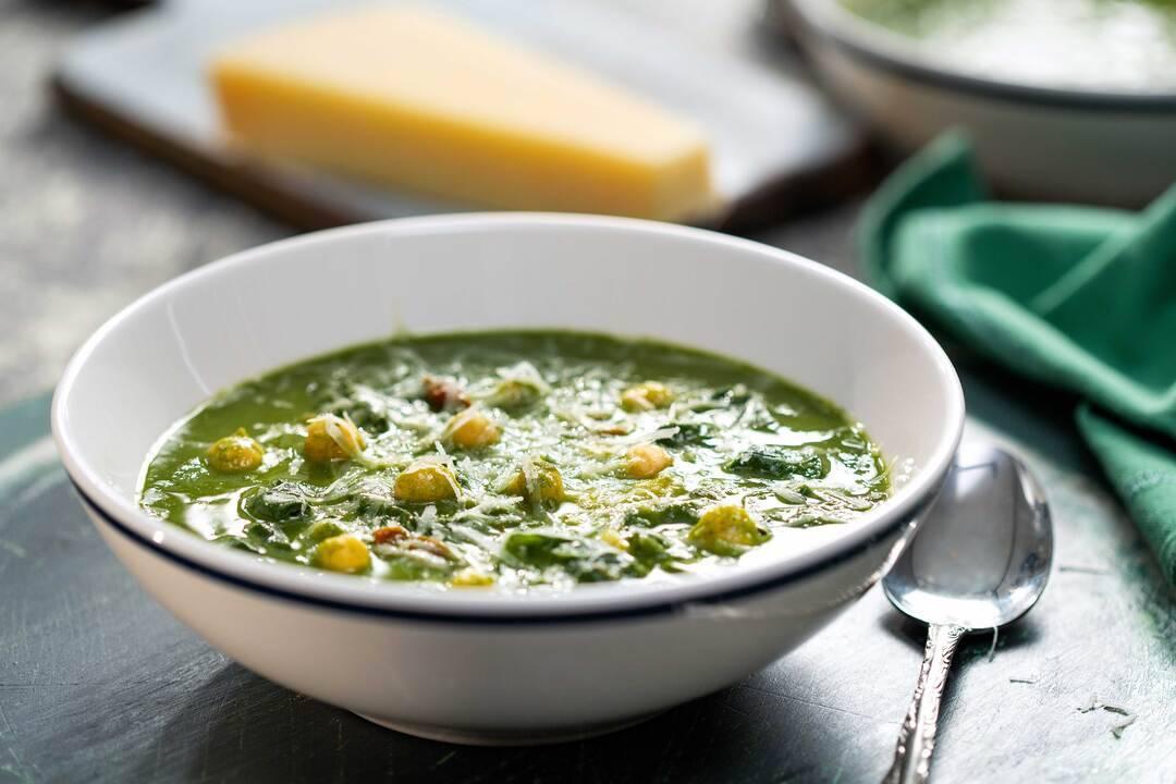 Бон Апети | Супа със спанак и нахут