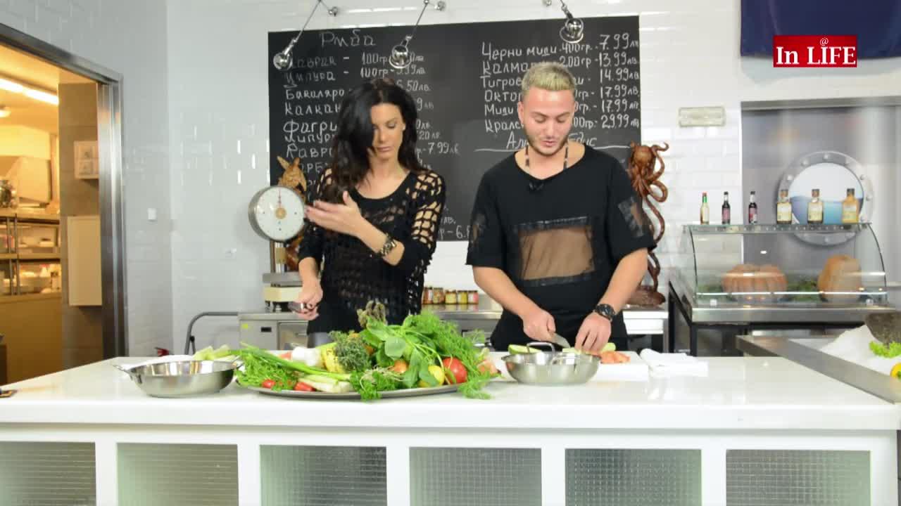Дизайнерско готвене с българския Филип Плейн – Едис Пала в Кухня в рая, Епизод 15