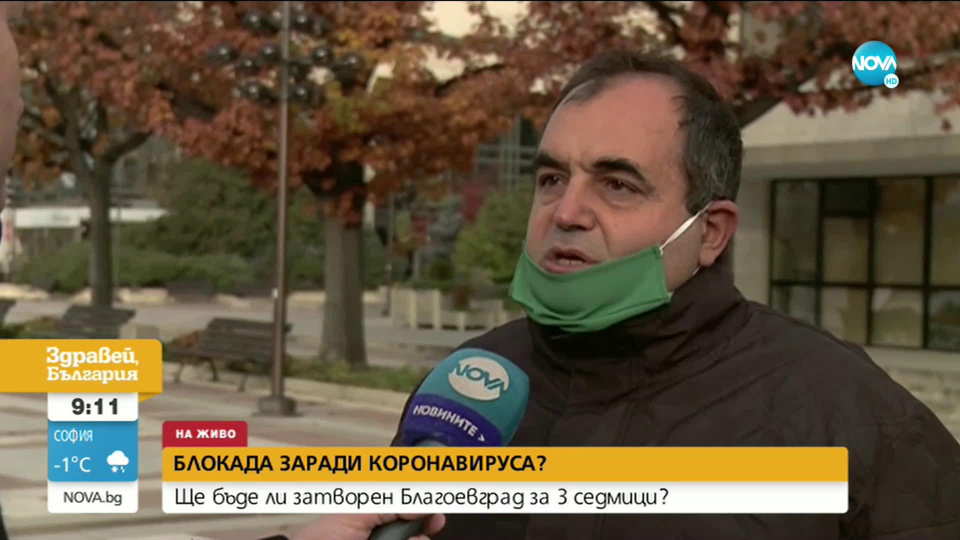 Ще бъде ли затворен Благоевград за 3 седмици
