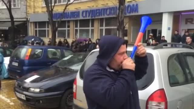 Протест срещу цените на винетките в София