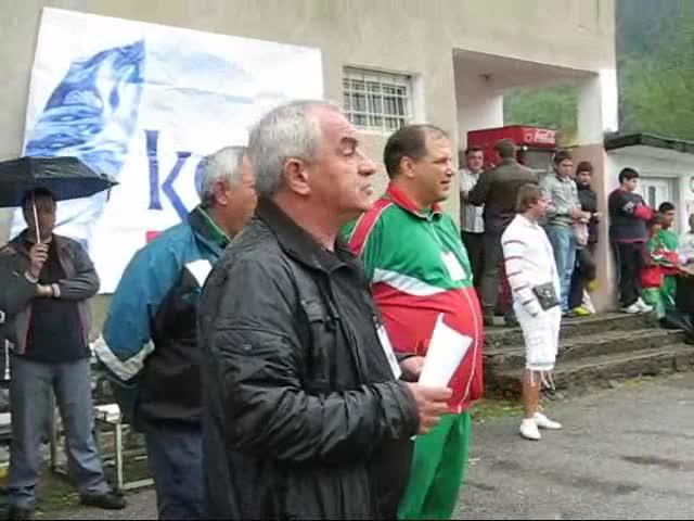 Откриване на турнир по ръгби 7 в Берковица в памет на Димитър Гаврилов - Тренера