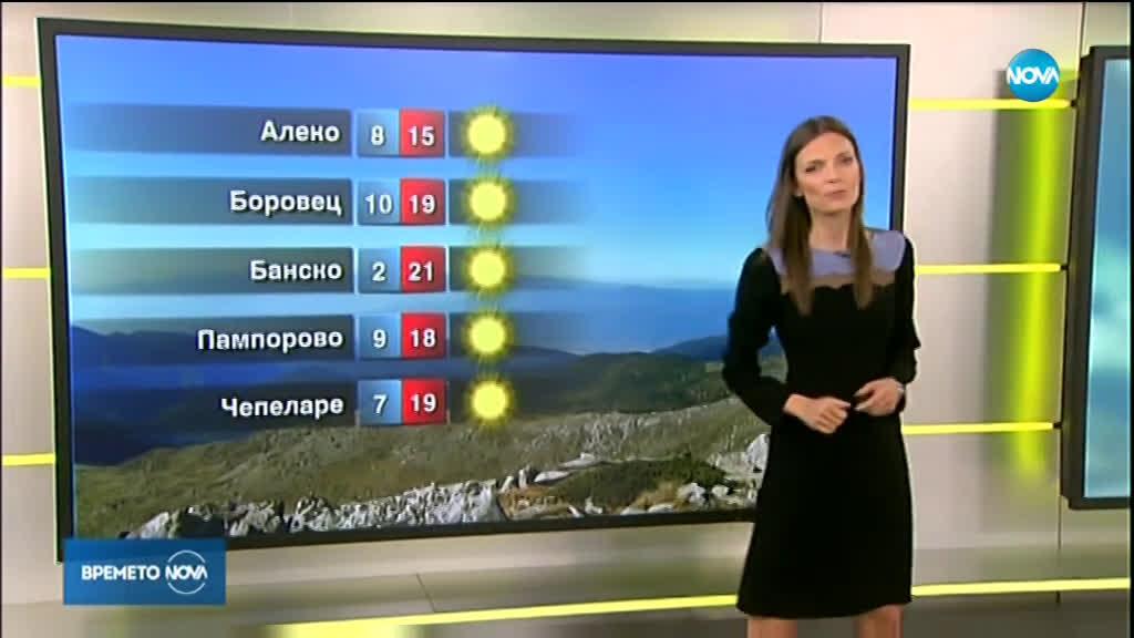 Прогноза за времето (27.10.2019 - сутрешна)