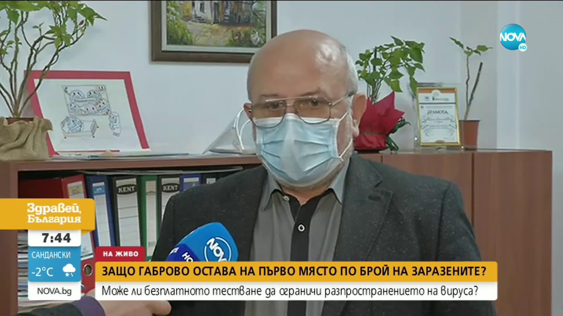 Защо Габрово остава на първо място по брой на заразените с COVID-19