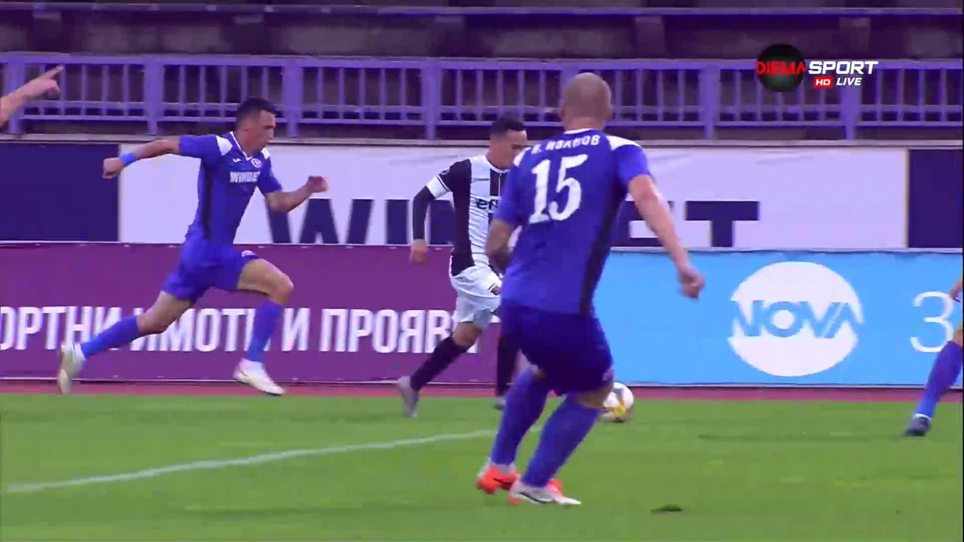 Етър - Локомотив Пд 0:3 /първо полувреме/