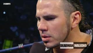 Matt Hardy отново предизвиква брат си Jeff Hardy! Jeff отвръща на удара! - Рз: 13.3.2009