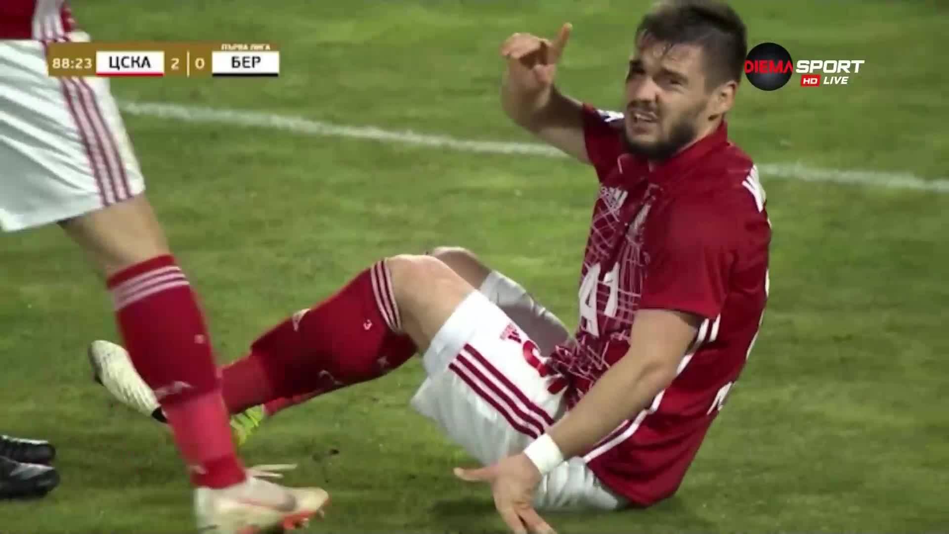 Защо ЦСКА срещу Берое се разви именно по този начин?
