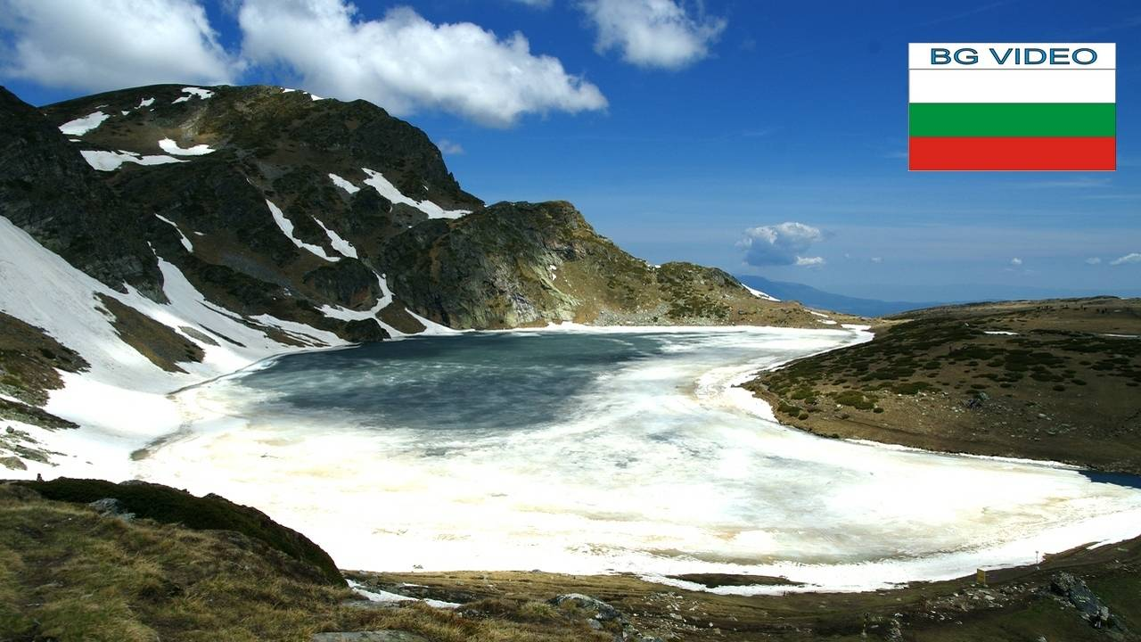Рилските езера-още спят зимен сън, но вече сънуват лятото