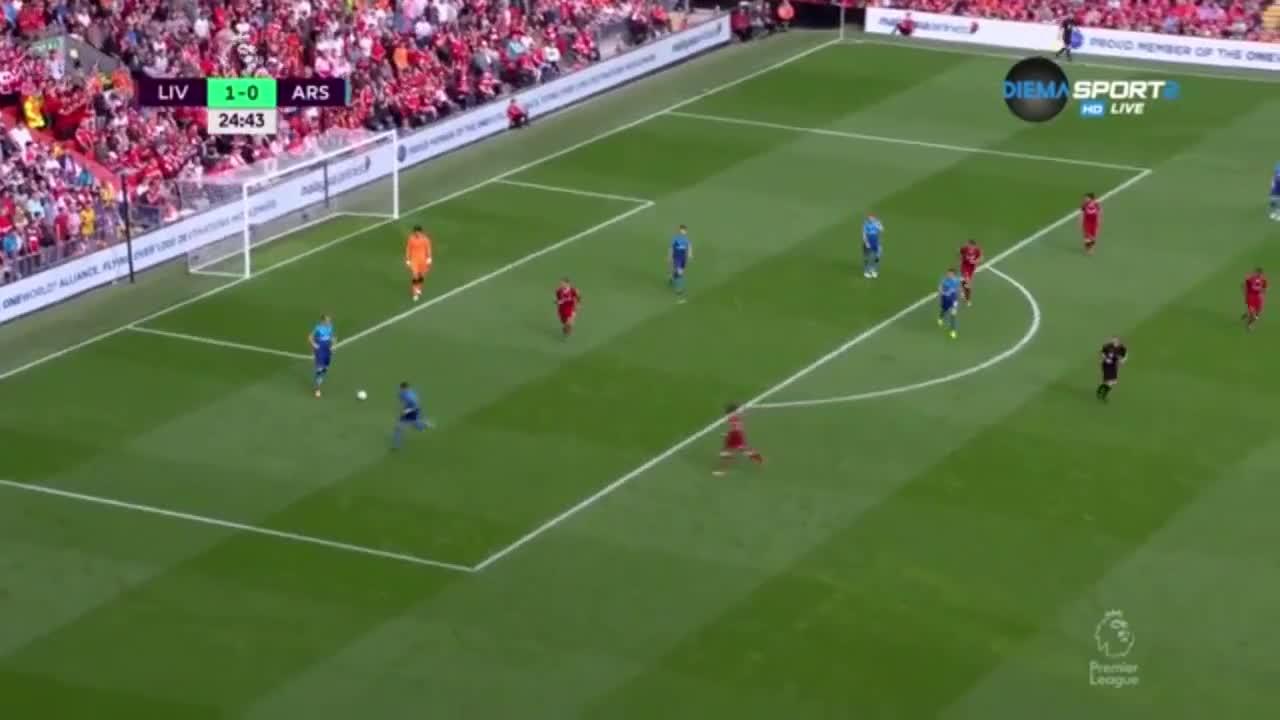 Ливърпул - Арсенал 4:0 /репортаж/