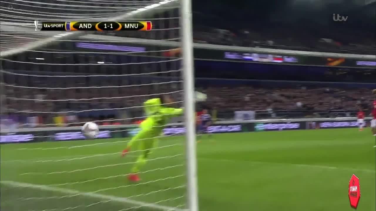 Highlights: Anderlecht - Manchester United 13/04/2017