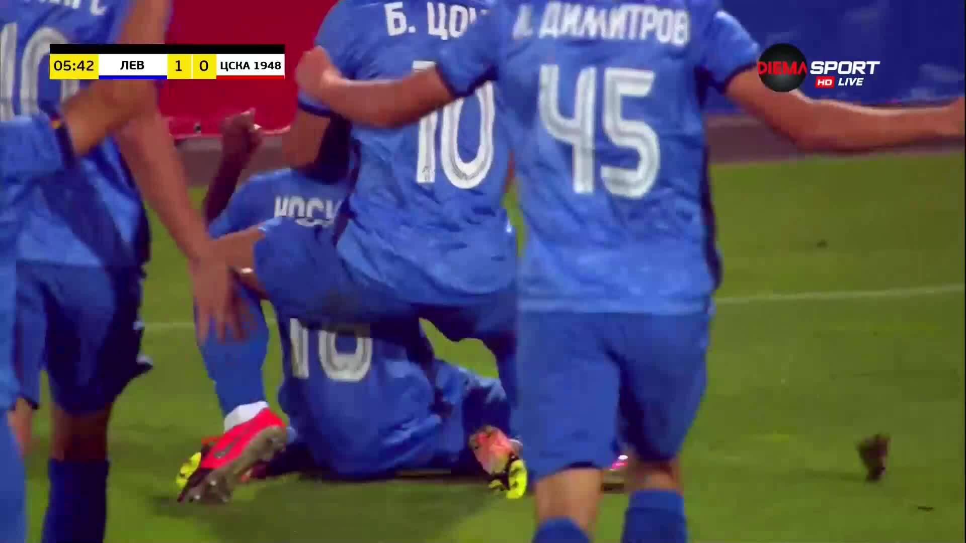 """Насиру Мохамед даде ранна преднина за """"сините"""""""
