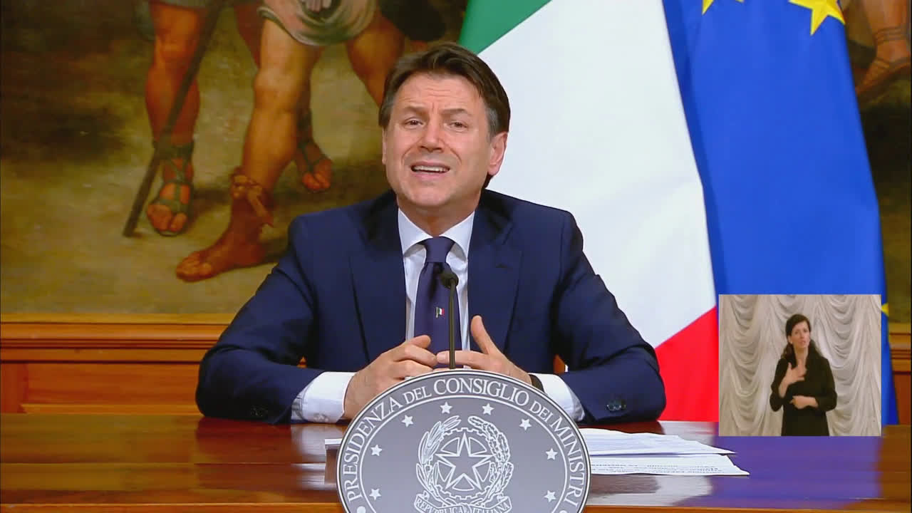 Italy: 'We must unlock this country' - Conte announces easing of lockdown