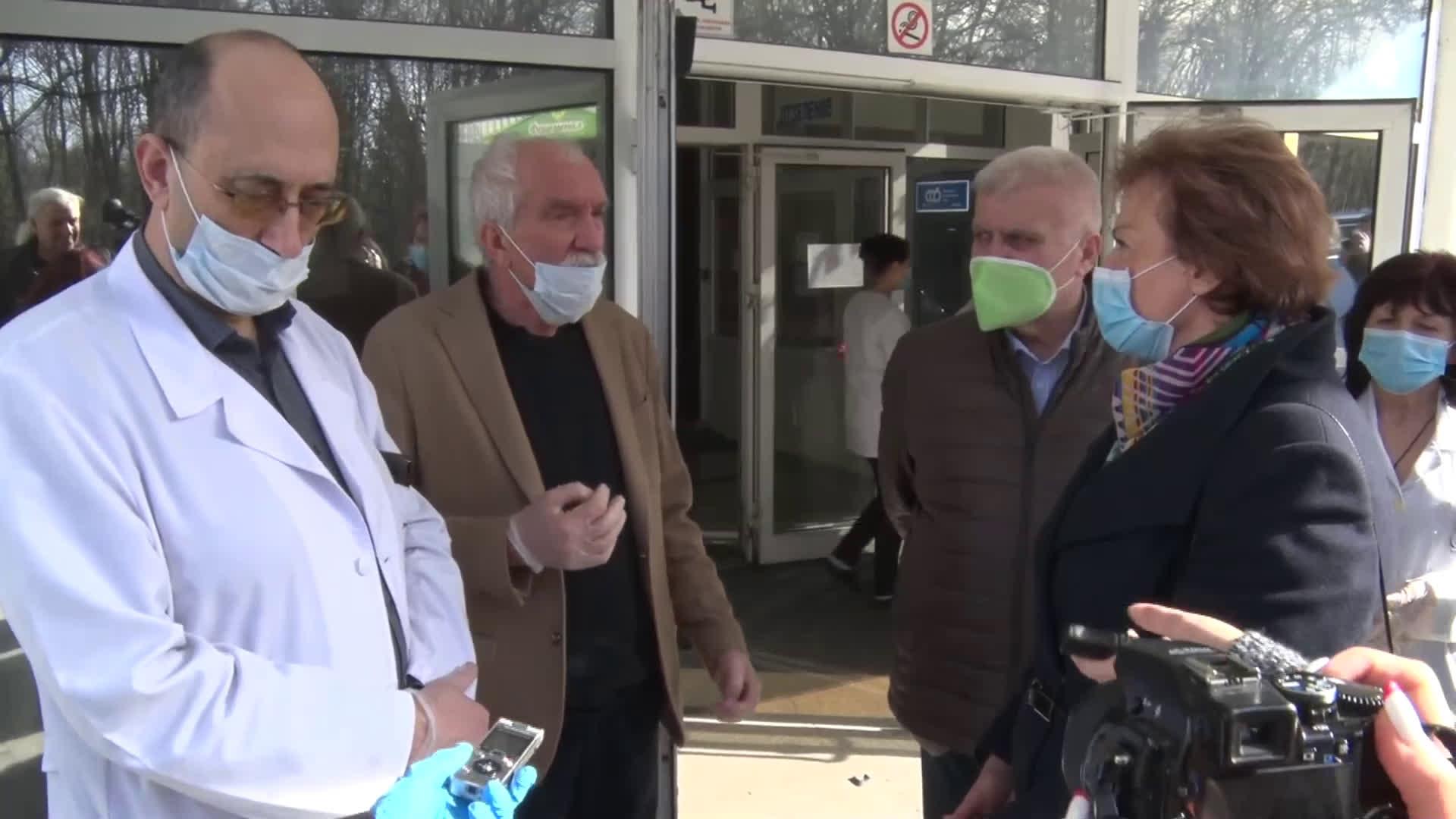 Братя Домусчиеви с огромно дарение за болницата в Разград