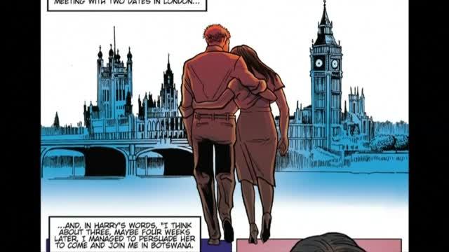 Принц Хари и Меган Маркъл станаха герои на комикс