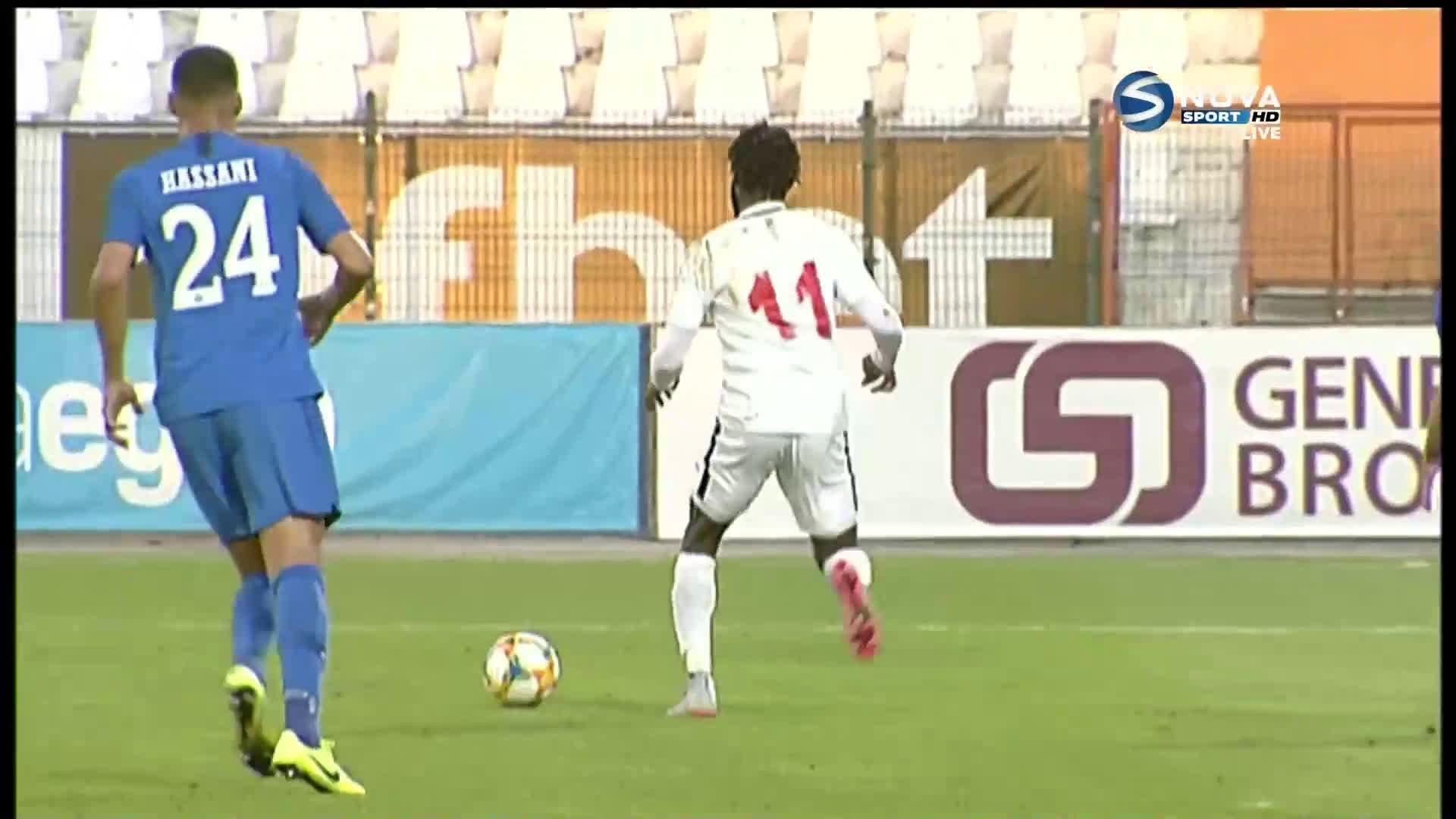 Родни Антуи с втори гол във вратата на Арда