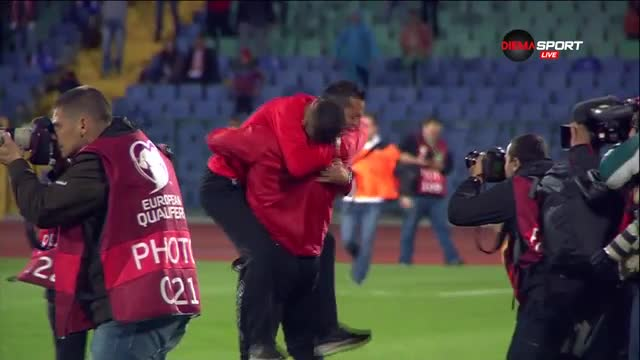 Христо Янев и ЦСКА полудяха след триумф в турнира за Купата на България