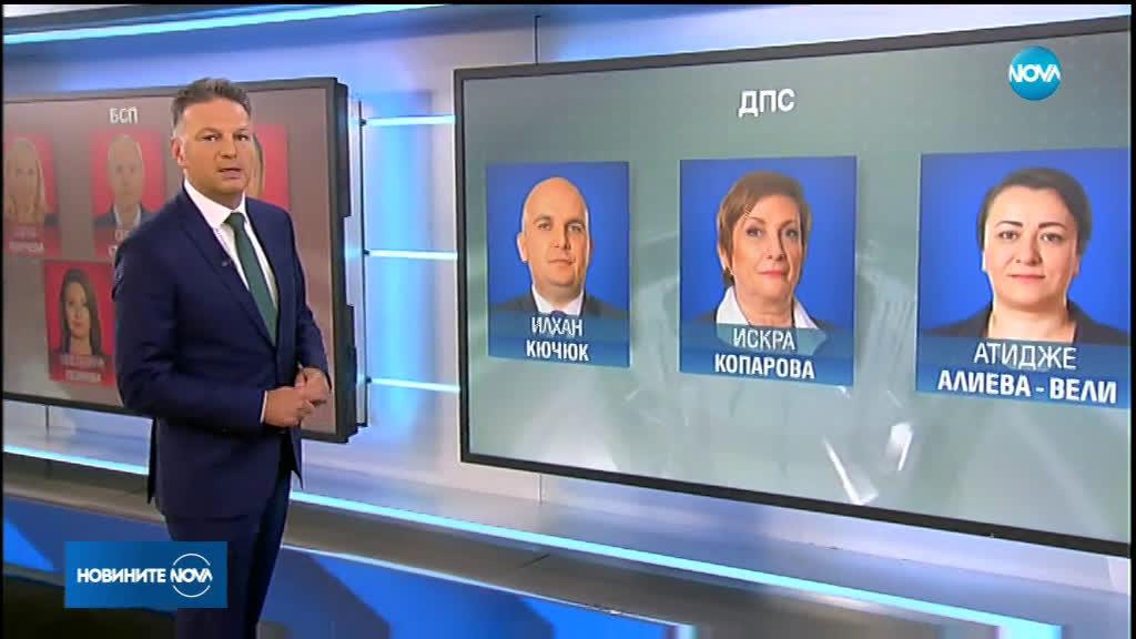ЦИК обяви имената на новите български представители в ЕП