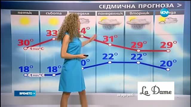 Прогноза за времето (22.07.2016 - сутрешна)