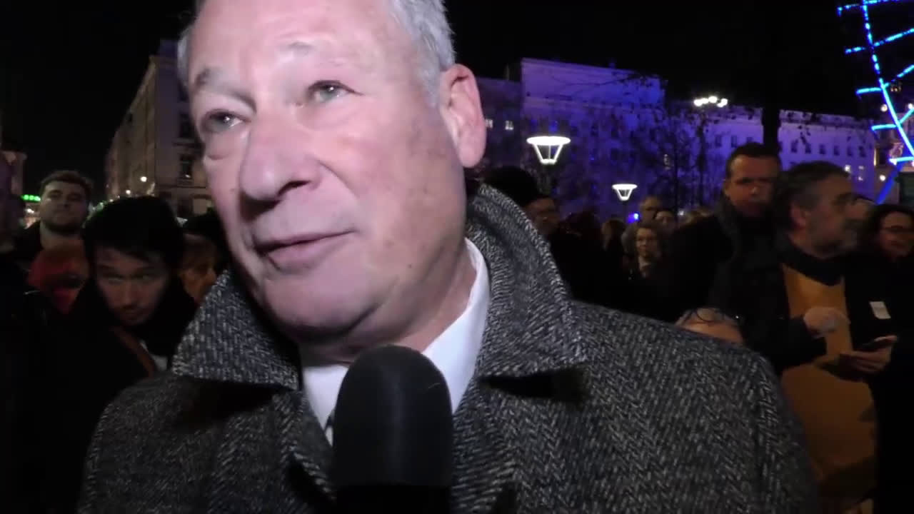 France: Hundreds attend rally against anti-Semitism in Lyon