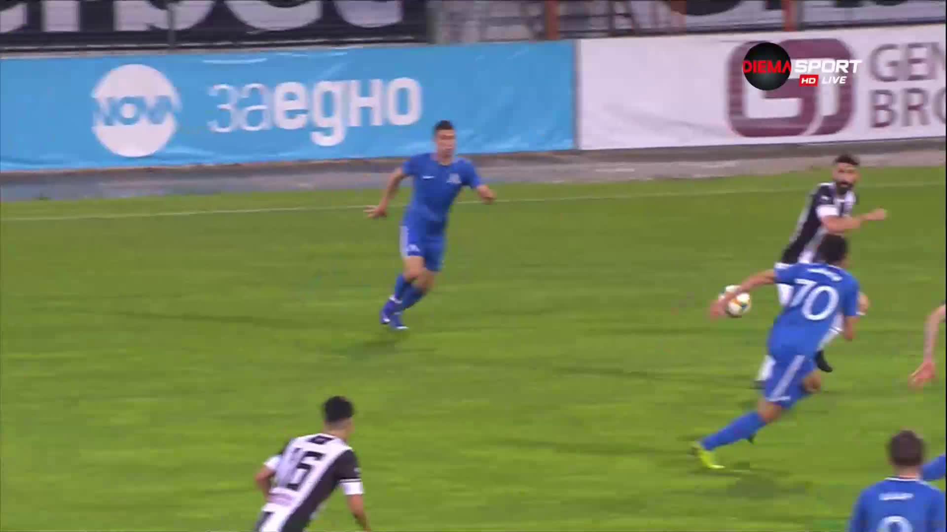 Локомотив Пловдив - Левски 2:0 /първо полувреме/