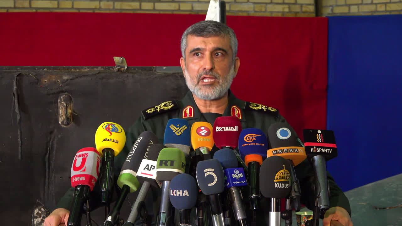 Iran: Revolutionary Guard Corps display wreckage of alleged US drone