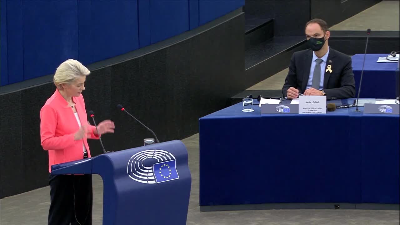 France: EU pledges extra 200 million COVID vaccines to Africa - VdL in State of Union address