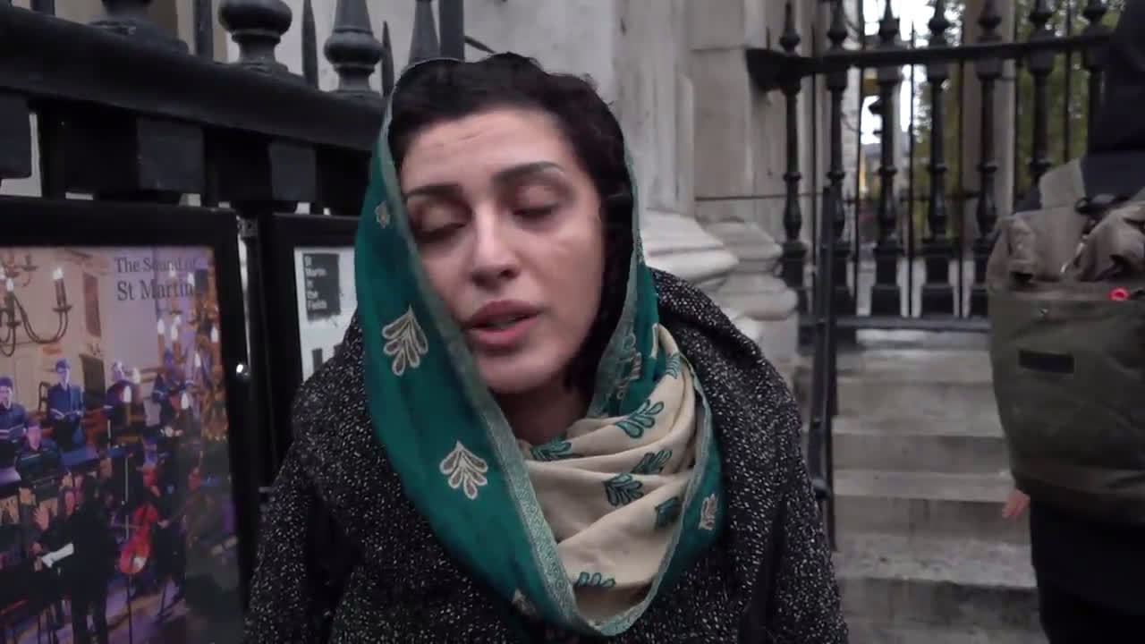 UK: Kurdish community march against Turkish incursion into Syria