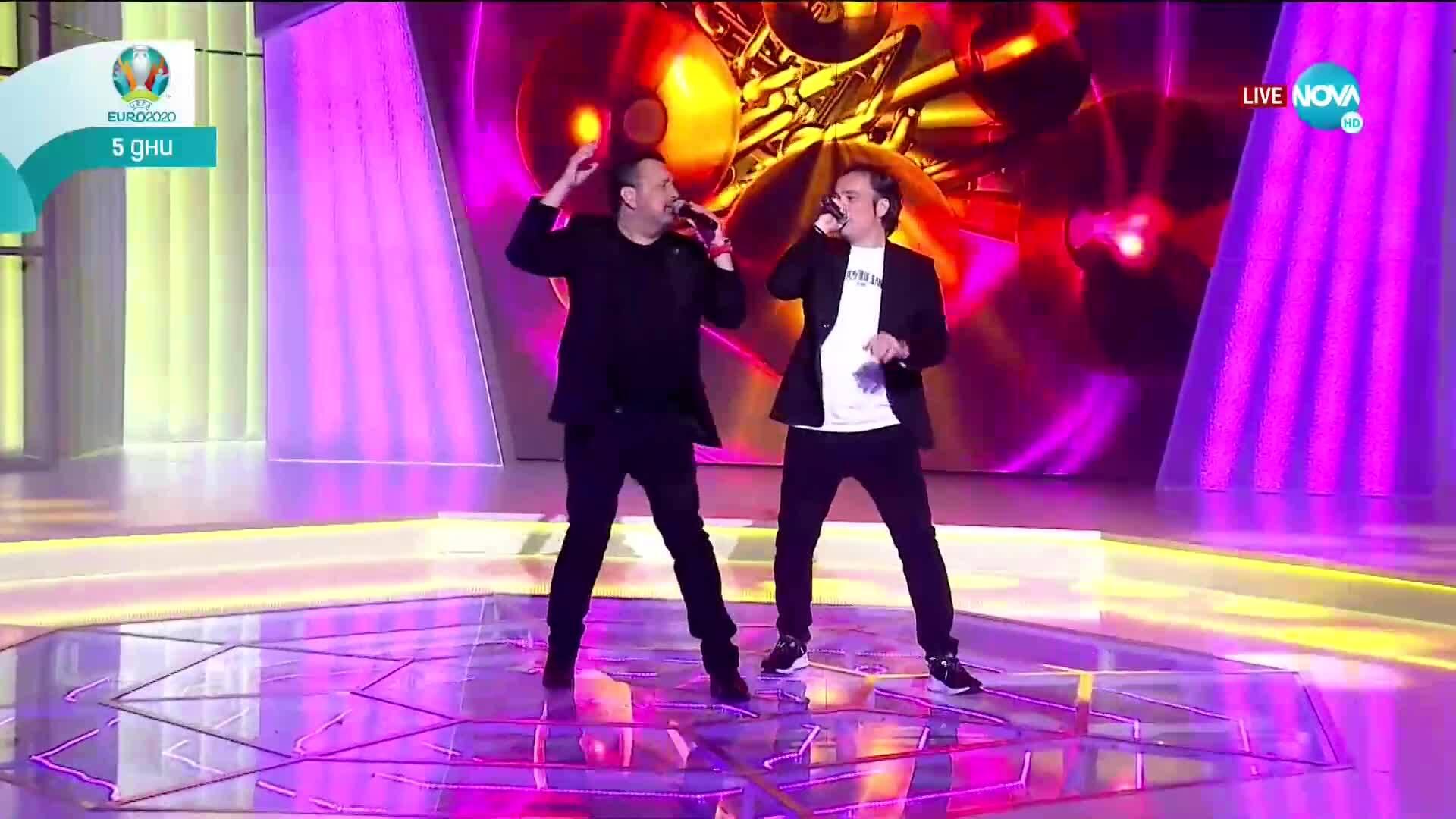 Александър и Дац в Забраненото шоу на Рачков (06.06.2021)