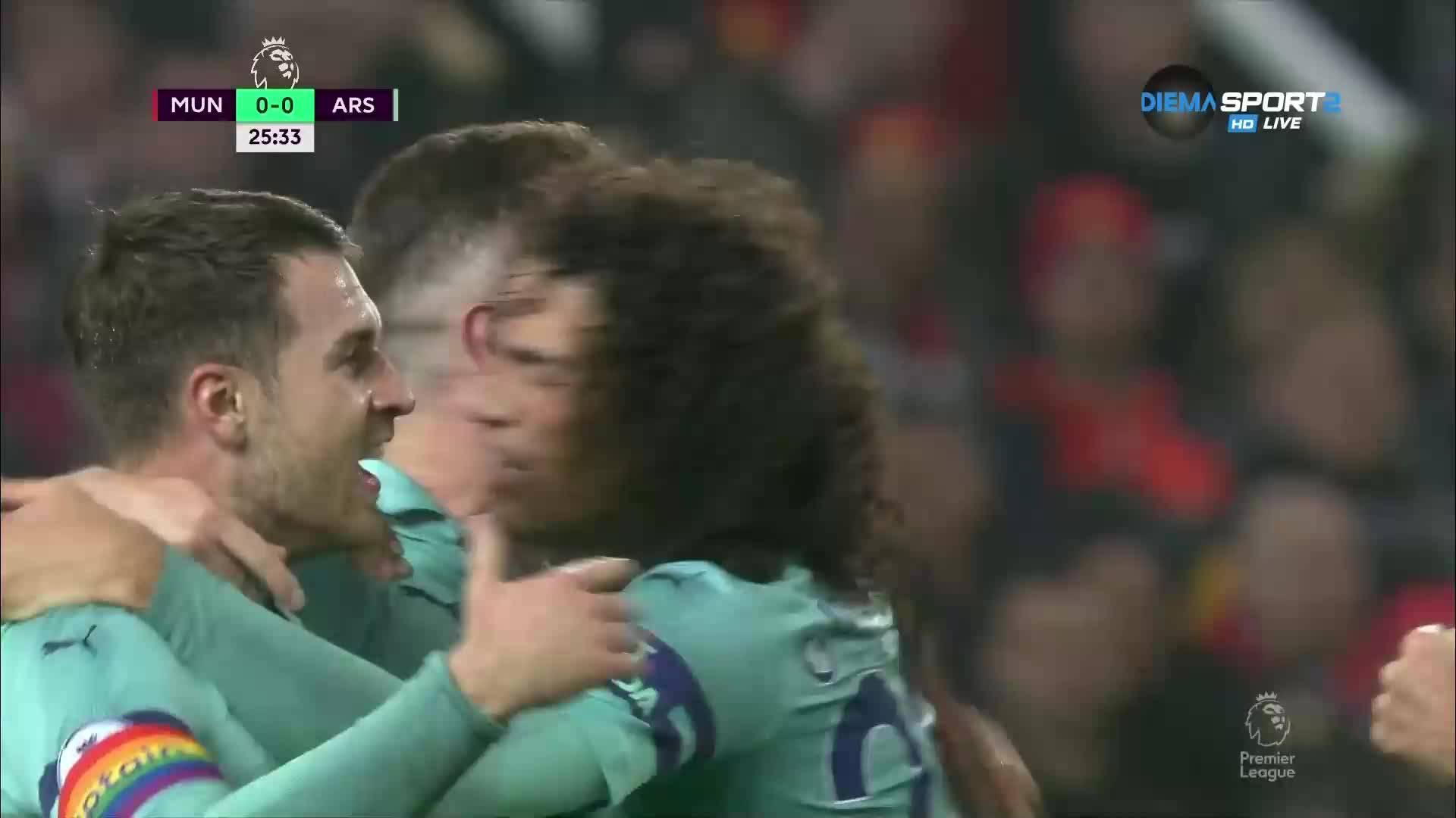 Левашка намеса от Де Хеа подари гол на Арсенал