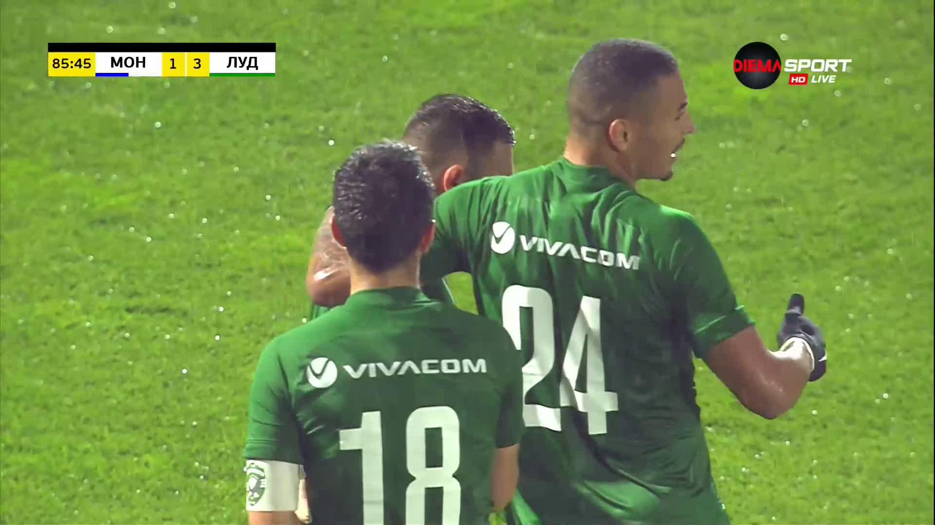 Доминик Янков пречупи Монтана с трети гол