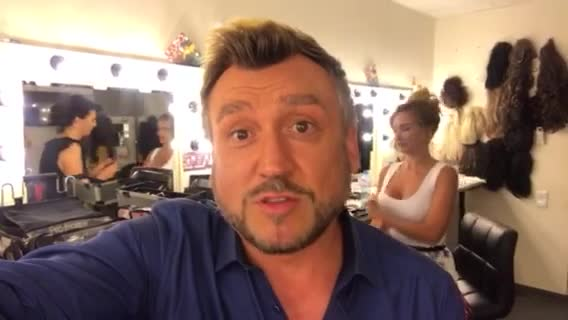 Любо Киров зад кулисите на X Factor